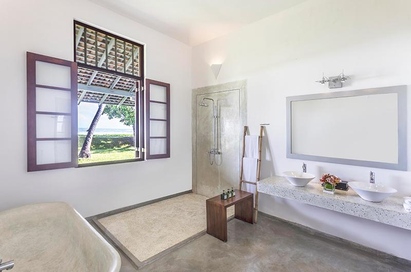Villa Frangipani Tree Olive Ridley Beach Bathtub Area | Talpe, Sri Lanka