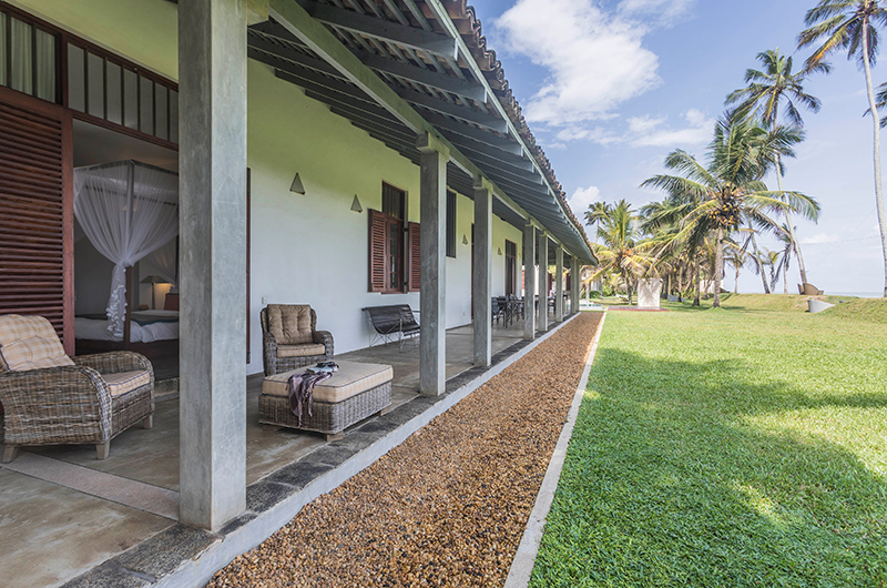 Villa Frangipani Tree Olive Ridley Beach Garden | Talpe, Sri Lanka