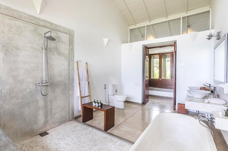 Villa Frangipani Tree Olive Ridley Upper One Bathroom Area | Talpe, Sri Lanka