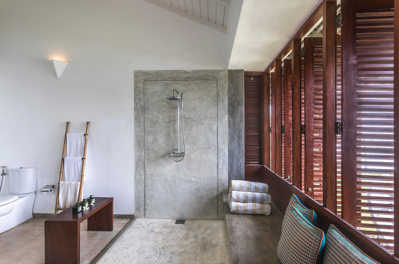 Villa Frangipani Tree Olive Ridley Upper Two Shower | Talpe, Sri Lanka