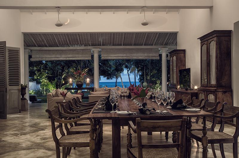 Villa Mawella Dining Area View | Tangalle, Sri Lanka