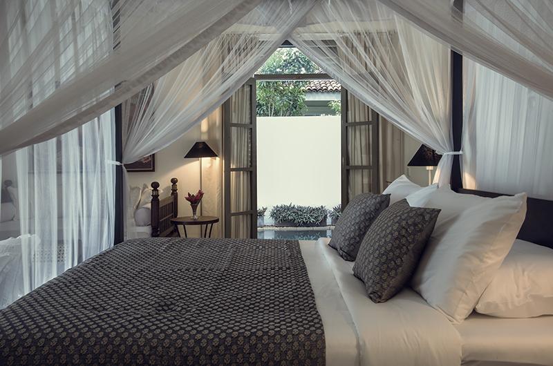 Villa Mawella Bedroom with Pool View | Tangalle, Sri Lanka