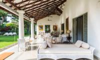 Villa Mawella Veranda with Seating Area | Tangalle, Sri Lanka