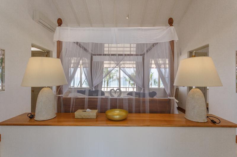 Villa Sulanga Bedroom with Lamps   Habaraduwa, Sri Lanka