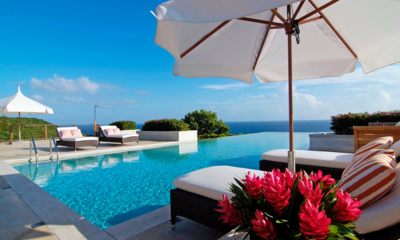 Villa Silver Turtle Pool Side Deck | Canouan, St Vincent and the Grenadines