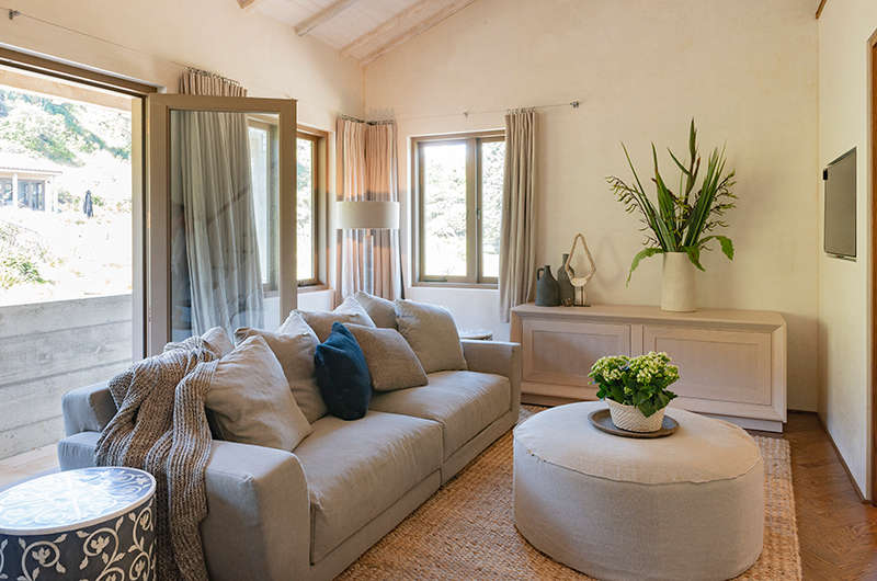 Muriwai Estate Living Room with Terrace | Muriwai, Auckland