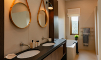 Muriwai Estate His and Hers Vanity | Muriwai, Auckland