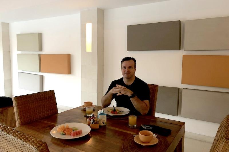 Bali Seminyak Bvilla Breakfast Table