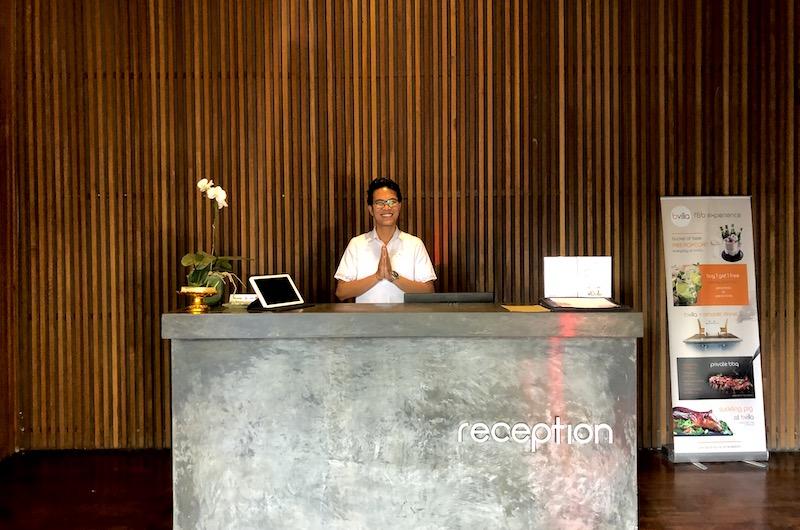 Bali Seminyak Bvilla Reception
