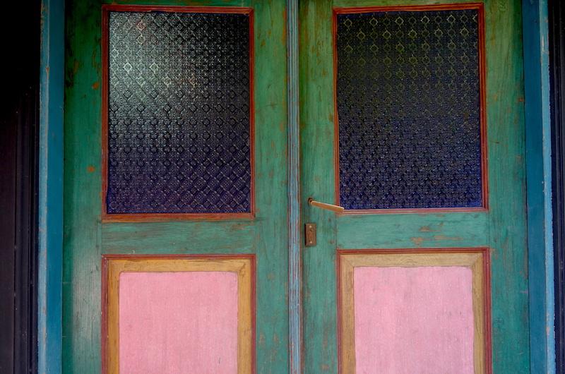 Bali Seminyak Garden House Door