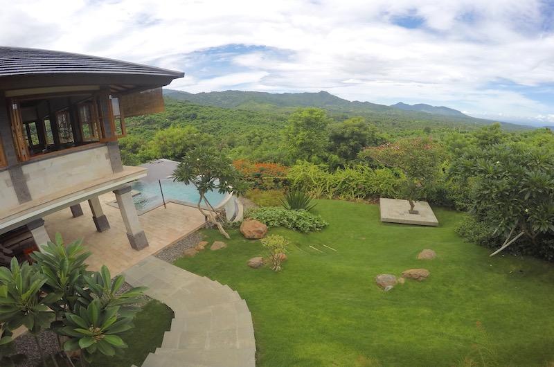 Sumberkima Hill Villas Villa Gajah Garden Area   North Bali, Bali