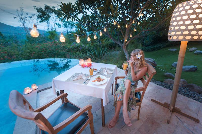 Sumberkima Hill Villas Villa Gajah Dining Area   North Bali, Bali