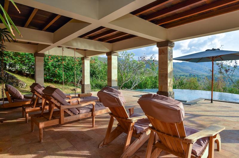 Sumberkima Hill Villas Villa Gajah Sun Decks   North Bali, Bali