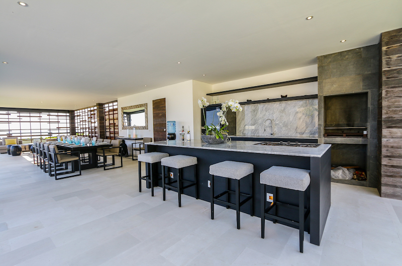 The Beach Villa Cemagi with Open Plan Kitchen with Dining Area | Seseh, Bali