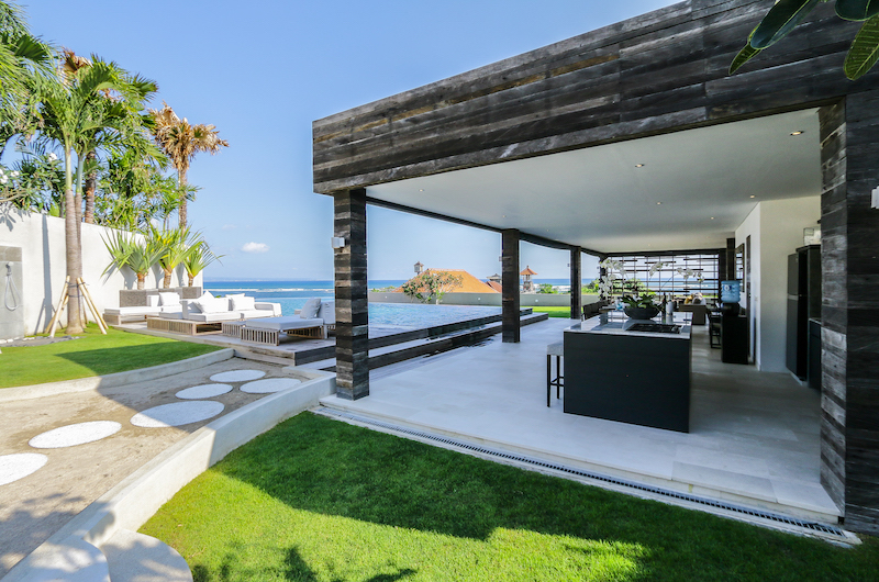 The Beach Villa Cemagi Seating Area with Pool View | Seseh, Bali