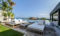 The Beach Villa Cemagi Outdoor Seating with Infinity Pool and Sea View | Seseh, Bali