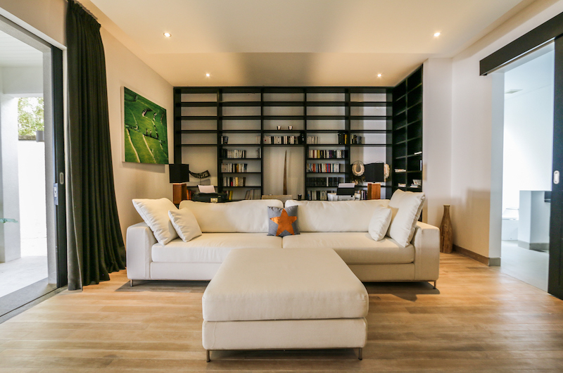 The Beach Villa Cemagi Living Area with Study | Seseh, Bali