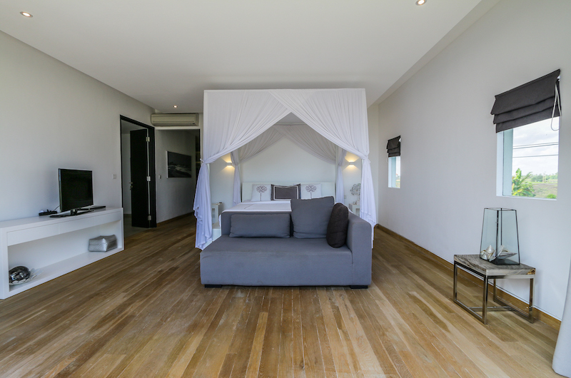 The Beach Villa Cemagi Bedroom One with King Size Bed | Seseh, Bali