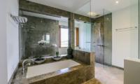 The Beach Villa Cemagi Bathroom with Bathtub   Seseh, Bali