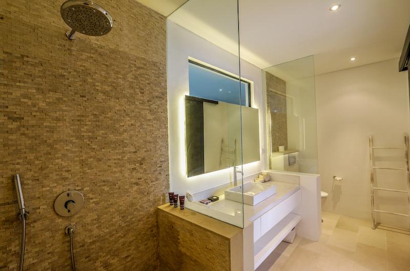 The Beach Villa Cemagi Bathroom with Shower   Seseh, Bali