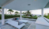 The Beach Villa Cemagi Outdoor Seating with Plants | Seseh, Bali