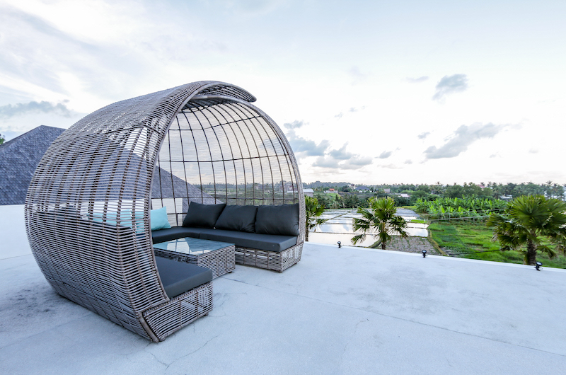 The Beach Villa Cemagi Outdoor Seating with Garden View | Seseh, Bali