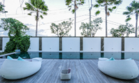 The Beach Villa Cemagi Sun Deck with Seating   Seseh, Bali