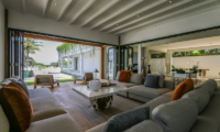 The Beach Villa Cemagi Living Area with Garden View   Seseh, Bali