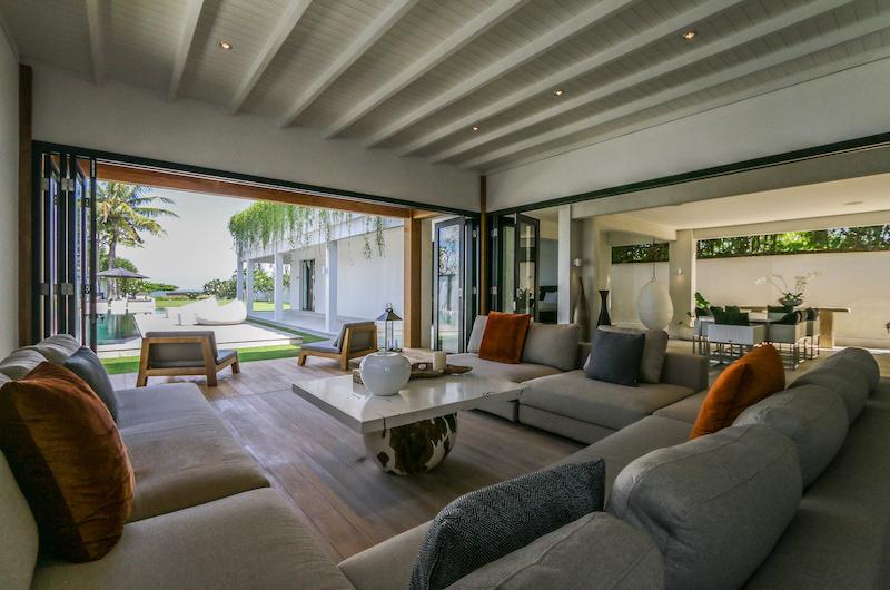The Beach Villa Cemagi Living Area with Garden View | Seseh, Bali