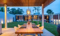 The Loft Outdoor Dining Area | Ubud, Bali