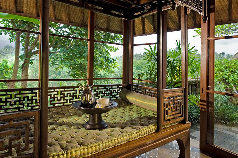 Villa Bukit Naga Seating Area with Forest Views | Gianyar, Bali