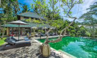 Villa Bukit Naga Pool Area with Vegetation | Gianyar, Bali