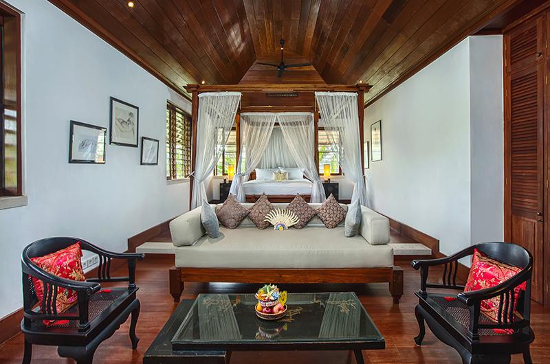 Villa Bukit Naga Bedroom Seating Area | Gianyar, Bali