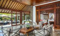 Villa Bukit Naga Living Area and Sun Deck | Gianyar, Bali