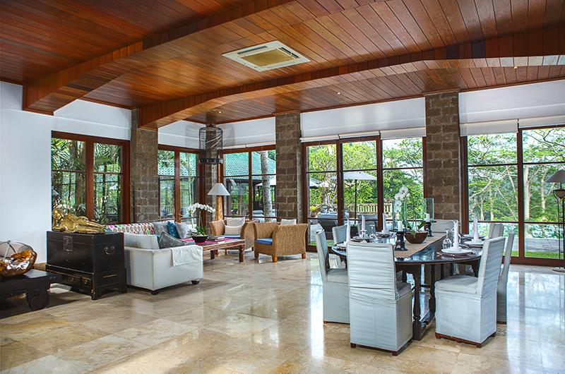 Villa Bukit Naga Living Area and Dining Area | Gianyar, Bali