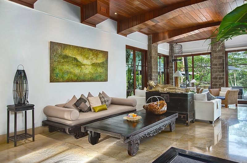 Villa Bukit Naga Living Area Furniture | Gianyar, Bali