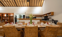 Villa Doretanh Dining Area with Open Plan Kitchen | Ungasan, Bali