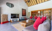 Villa Doretanh Living Area with Entertainment Unit | Ungasan, Bali