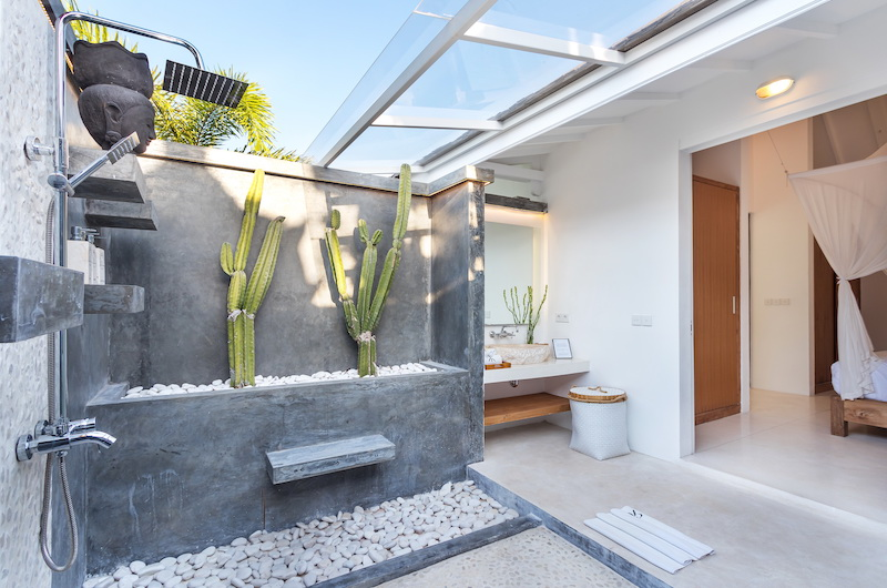 Villa Karein Outdoor Shower   Seseh, Bali