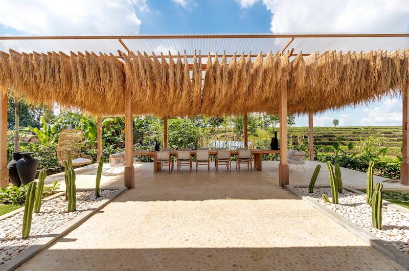 Villa Karein Outdoor Dining Area   Seseh, Bali