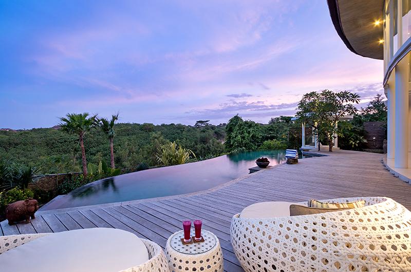 Villa Pancaloka Infinity Pool with Forest Views | Jimbaran, Bali