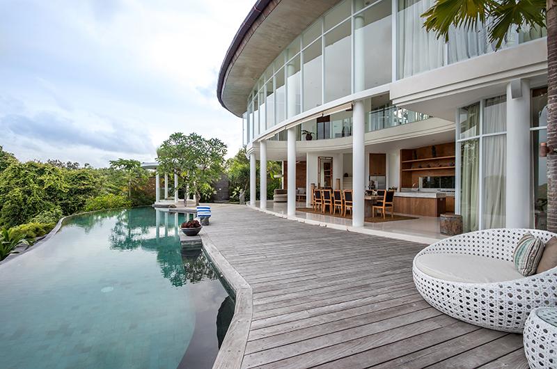 Villa Pancaloka Sun Deck and Swimming Pool | Jimbaran, Bali
