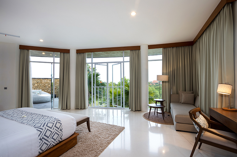 Villa Pancaloka Bedroom with Balcony and Forest View | Jimbaran, Bali