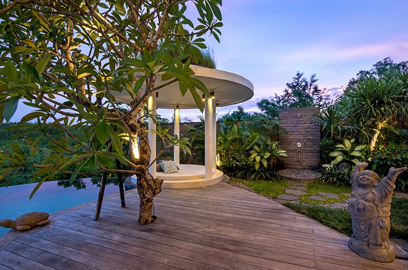Villa Pancaloka Pool Side Seating Area | Jimbaran, Bali