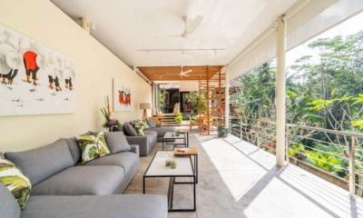 Villa Sasih Karo Balcony Seating Area | Ubud, Bali