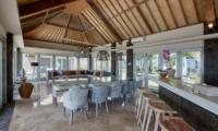 Villa Sunrise Open Plan Kitchen and Dining Area | Gianyar, Bali