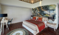 Villa Sunrise Bedroom with Study Table | Gianyar, Bali