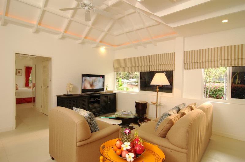 Tamarind Villas Lake Villa TV Area | Pattaya, Chonburi