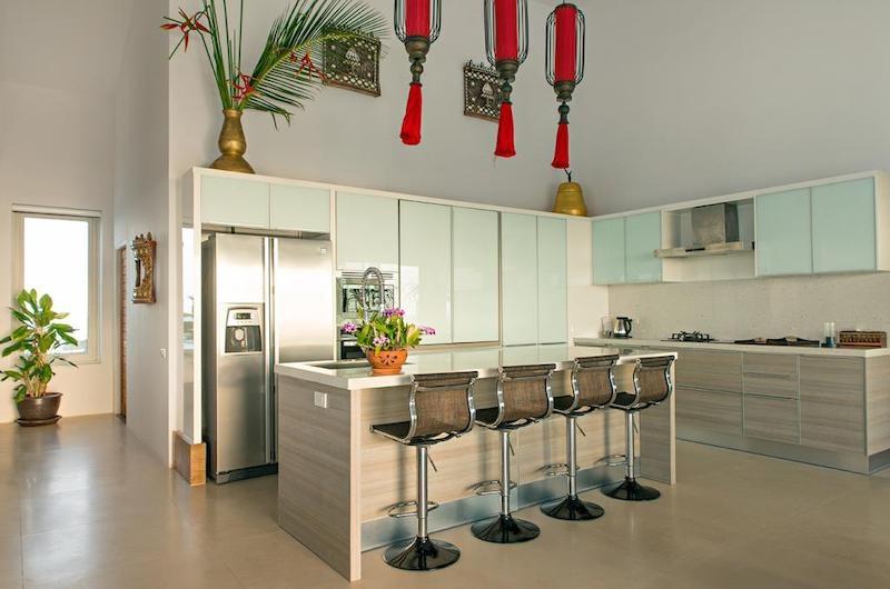 Villa Loramatari Open Plan Kitchen | Choeng Mon, Koh Samui