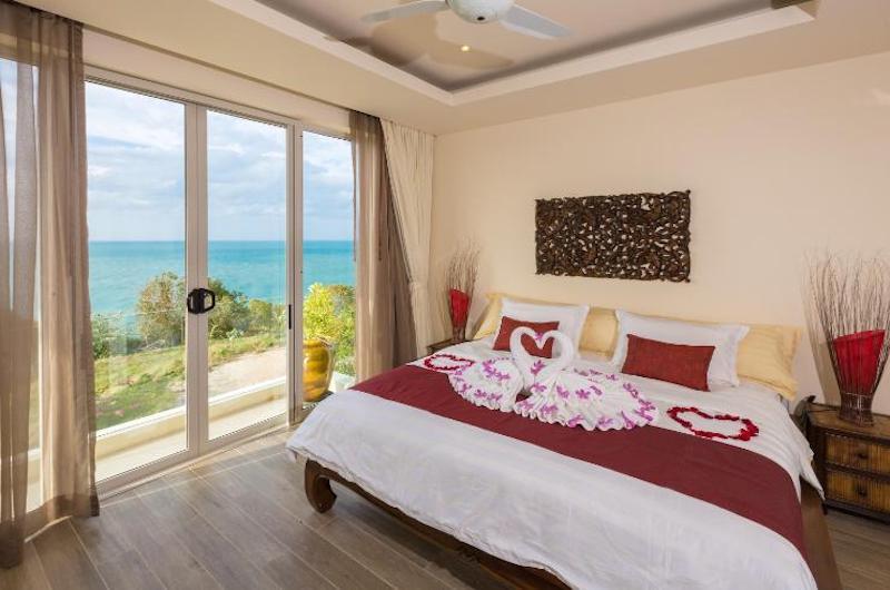 Villa Loramatari Bedroom Four with Sea View | Choeng Mon, Koh Samui